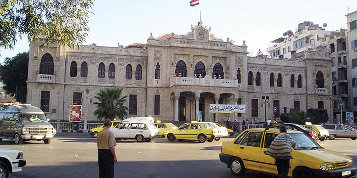 התחנה הראשית של רכבת החיג'אזית בסוריה (Heretiq)