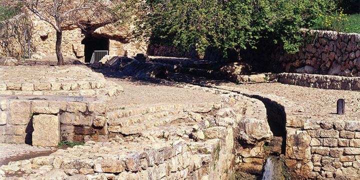 המעיין, הנקבה והתעלה בעין צור (israeltourism)